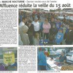 Courrier de l'Eure Aout 2010