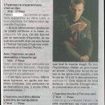 Ouest France Novembre 2011